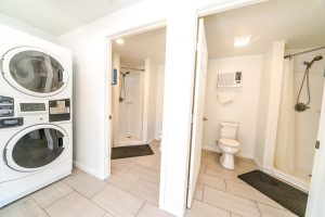 Plantation Oaks RV Park laundry room and restrooms