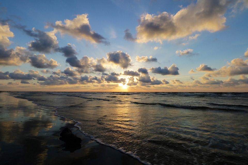 Texas Gulf Beach